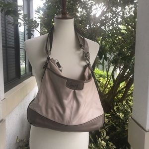 Coach Large Park Taupe Shoulder Bag